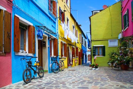 Bike, tandem or rickshaw tour of Venice and Venetian islands