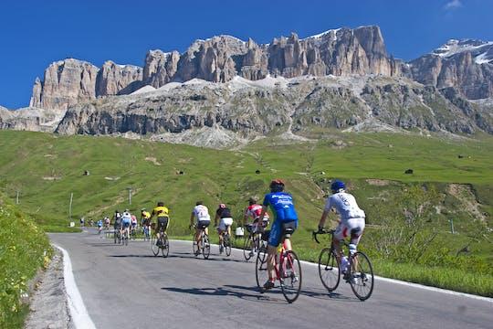 Велосипедный тур по четырем перевалам Доломитовых Альп