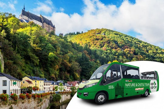 Hop-on Hop-off Nature and Castle Tour from Luxemburg City