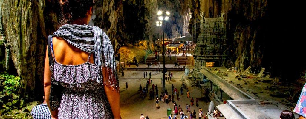 Cavernas Batu privadas de meio dia e passeio cultural