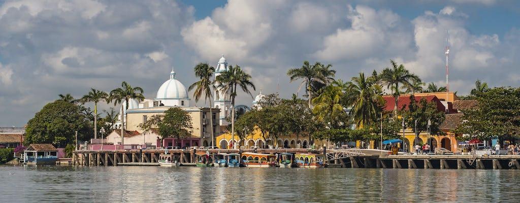 Тур реки папалоапан на катере с посещение Тлакотальпан и Альварадо