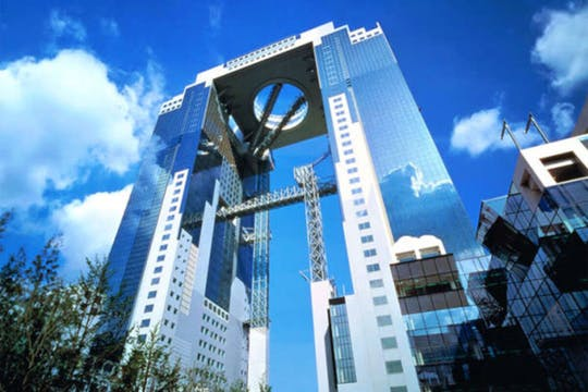 Ticket voor Umeda Sky Building Floating Garden Observatory