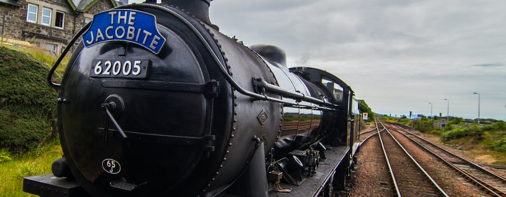 Passeio Jacobite Steam Train e Scottish Highlands