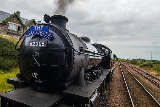 Jacobite Steam Train and Scottish Highlands tour