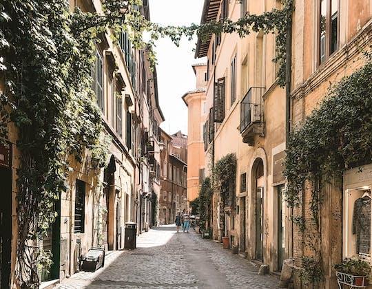 Viagem de vídeo inesperada de Roma, o Gueto e Trastevere