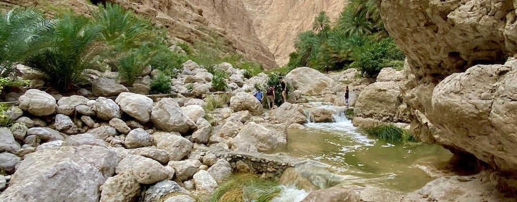 Wadi Shab e Bimmah Sinkhole excursão privada de dia inteiro