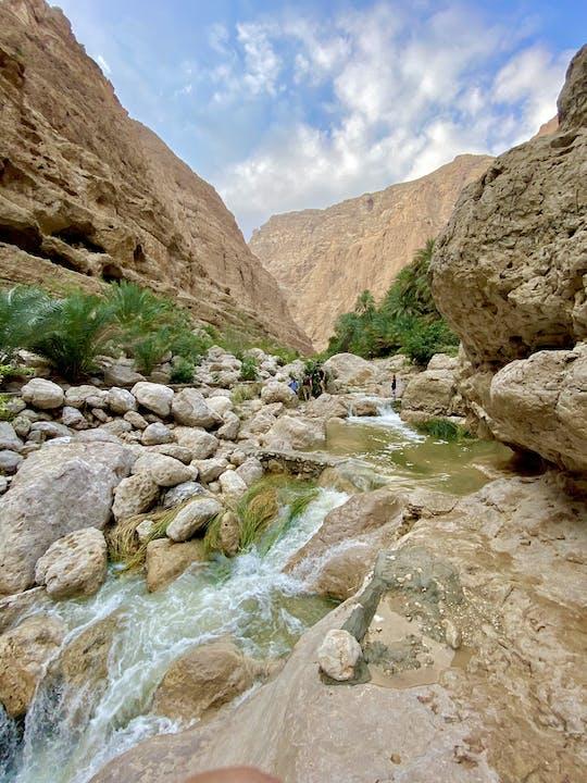 Wadi Shab and Bimmah Sinkhole private full-day tour