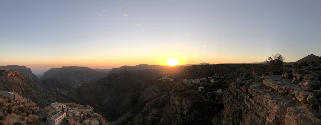 Visite privée d'une journée à Nizwa et au Grand Canyon