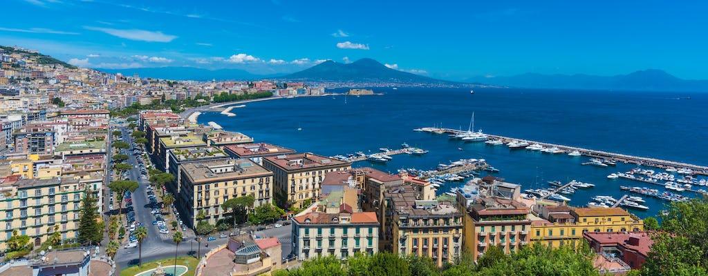 Tour panorámico en bicicleta eléctrica por Nápoles