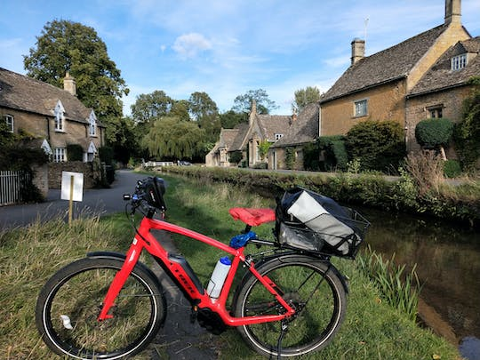 Private Cotswolds electric bike tour