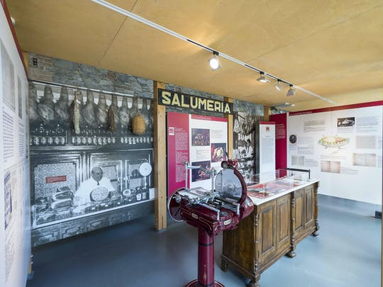 Tickets to the Parma Ham Museum in Langhirano