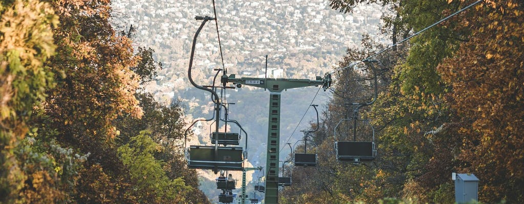 Janos hill tower visit by chairlift in Budapest