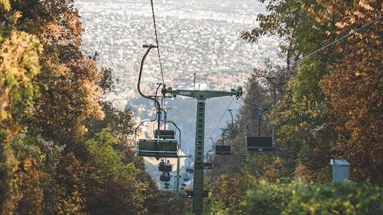 Torre da colina de Janos, visita de teleférico em Budapeste