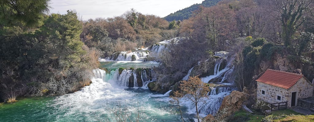 From Split: Krka waterfalls tour with lunch and tickets