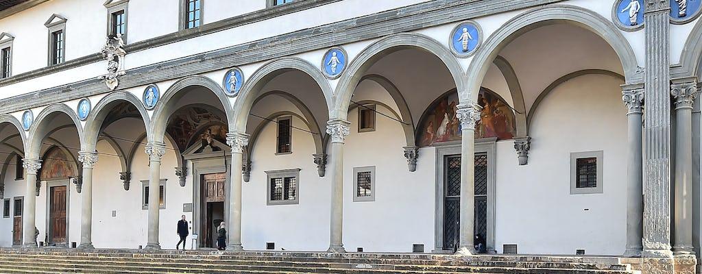 Entradas al Museo degli Innocenti de Florencia