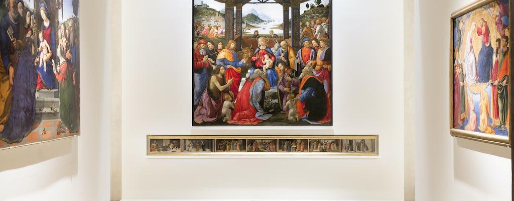 Visita guiada del Museo degli Innocenti y Piazza SS. Annunziata en Florencia