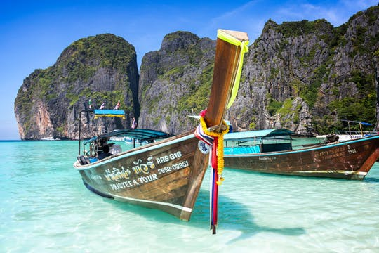 Phi Phi Don und Phi Phi Lay Schnellboot-Tour