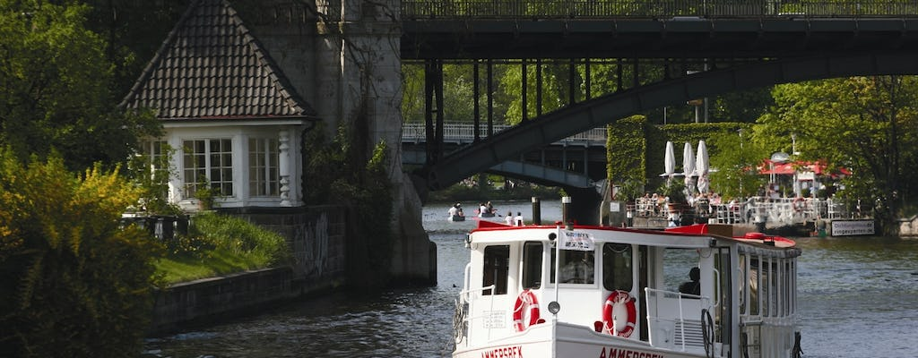Hop-on hop-off Alster cruise day-ticket