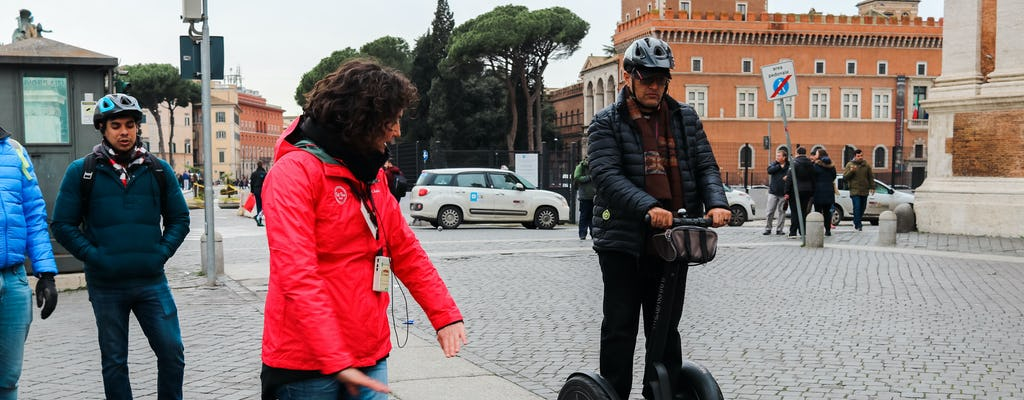 Rome 2-hour self-balancing scooter tour