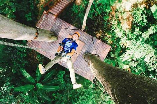 Ligne aérienne de tyrolienne Hanuman Phuket Journey C