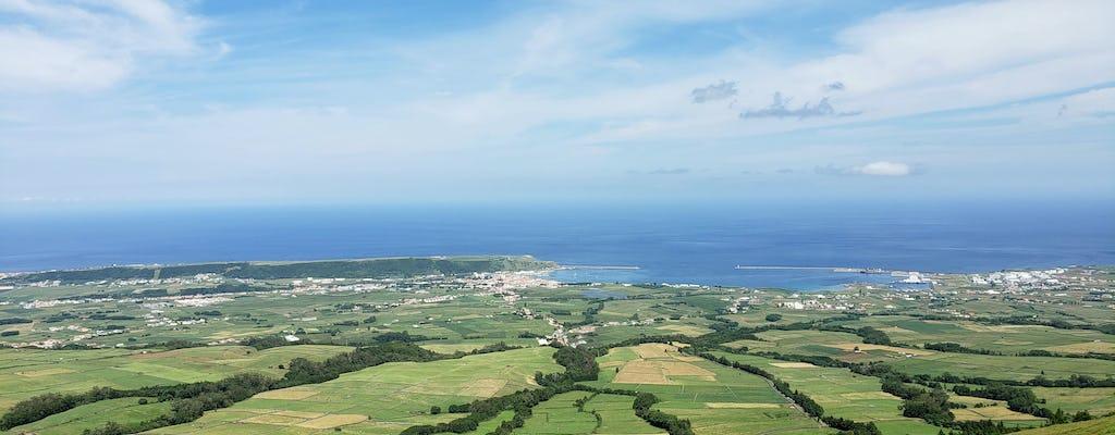 Visite de l'est de l'île de Terceira en minivan