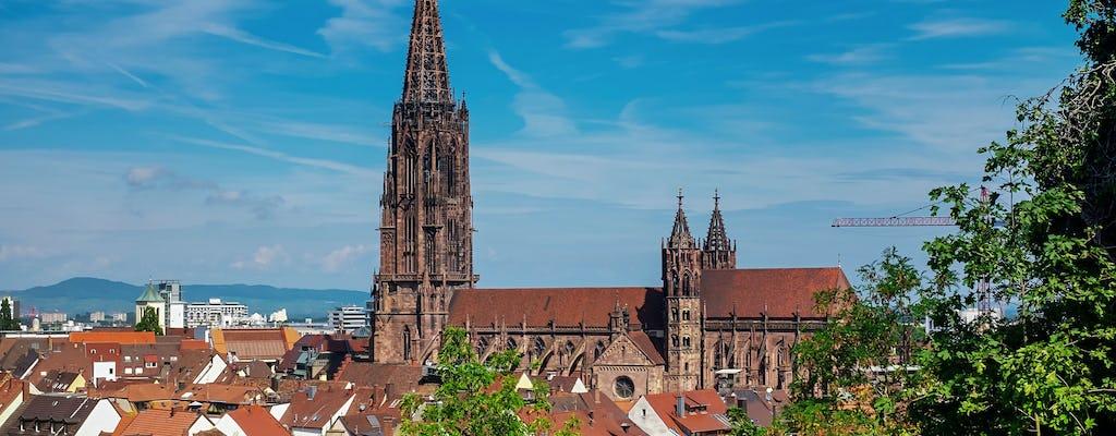Guided city walk of Freiburg