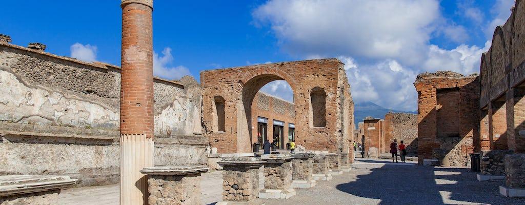 Tour di Napoli in scooter elettrico e visita guidata degli scavi di Pompei