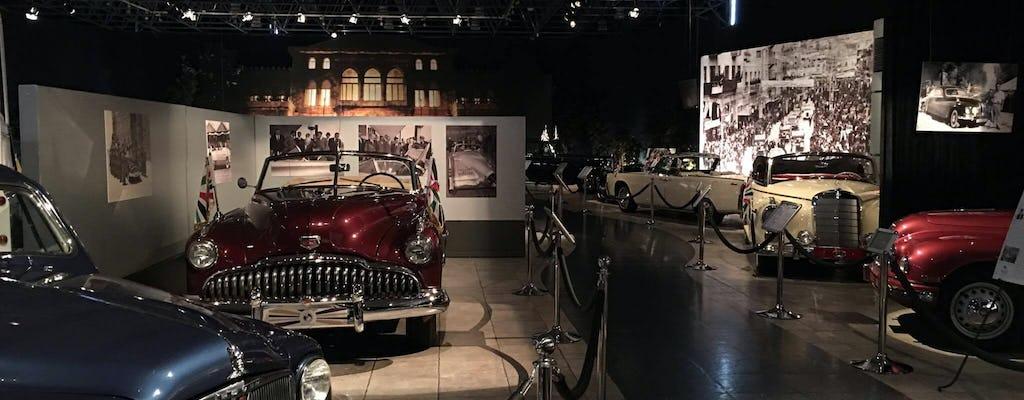 Biglietto per il Museo dell'Automobile Reale con trasferimento