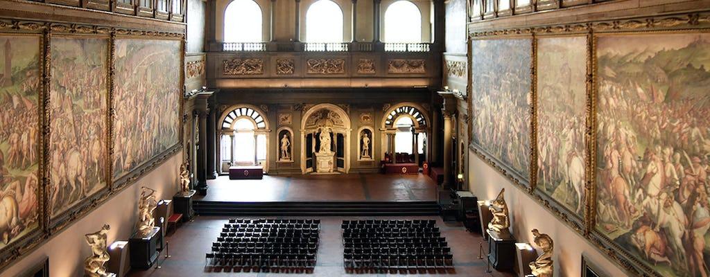 Wycieczka z przewodnikiem do Palazzo Vecchio i Salone dei Cinquecento