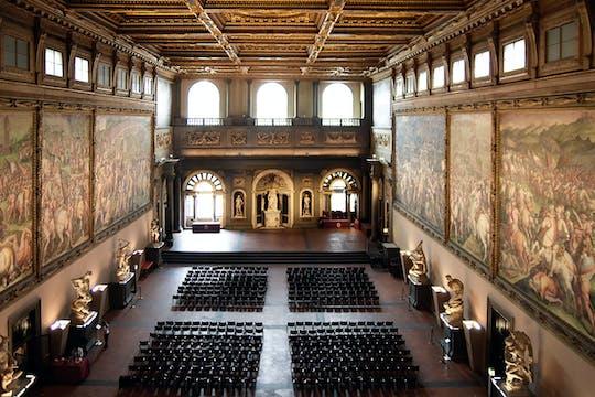 Palazzo Vecchio and Salone dei Cinquecento guided tour