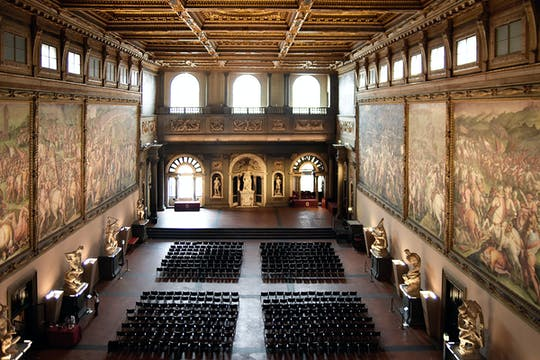 Visita guiada ao Palazzo Vecchio e ao Salone dei Cinquecento