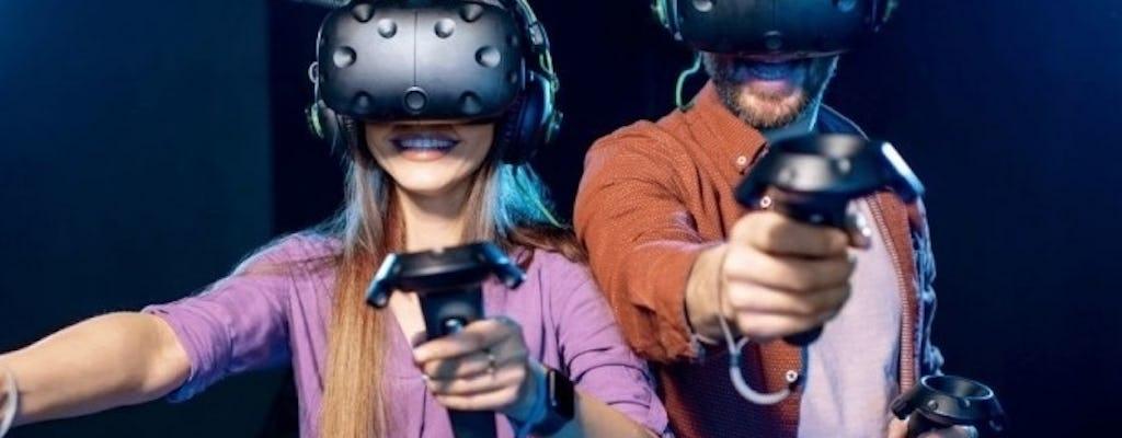 30 минут без перерыва на арене виртуальной реальности игровой сессии