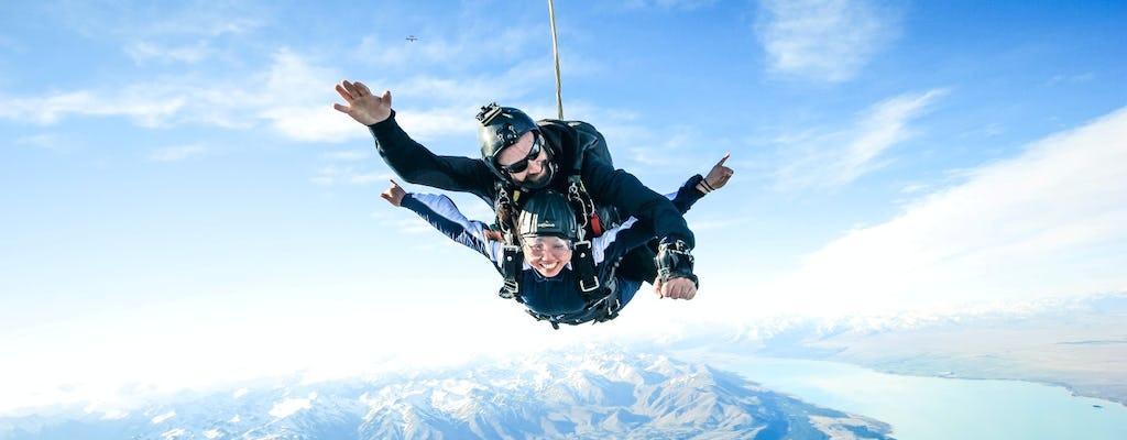 15,000ft  Skydive tandem over Mt. Cook
