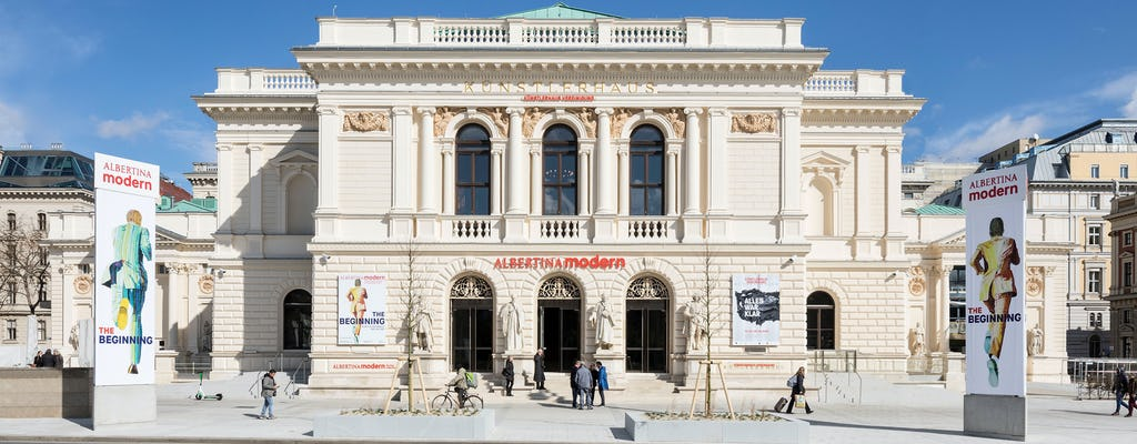 Biglietto d'ingresso alla Vienna moderna ALBERTINA