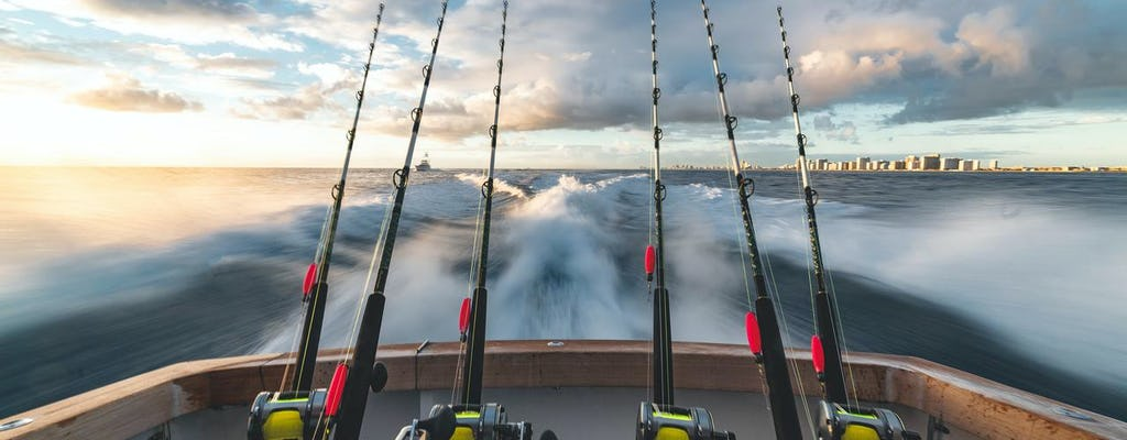 Aventura de pesca em alto mar em Clearwater Beach com almoço