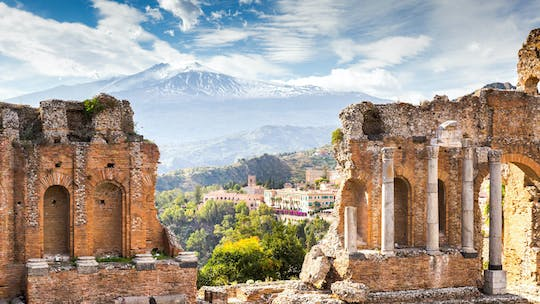 Etna and Taormina full-day tour from Palermo