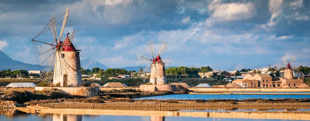 Excursión de un día a la isla Mozia y Marsala desde Palermo