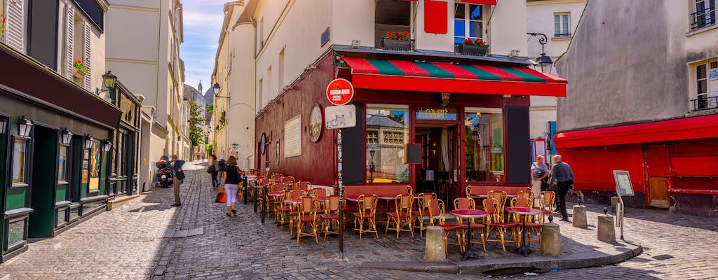 Bistrot and wine tasting tour in Montmartre