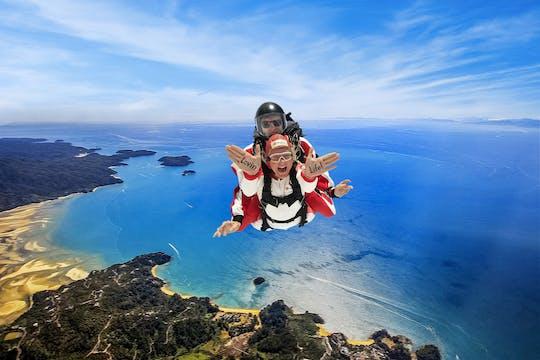13,000ft tandem skydive over Abel Tasman
