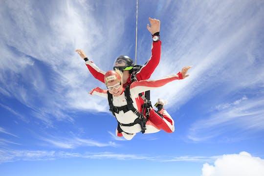 20,000ft tandem skydive over Abel Tasman