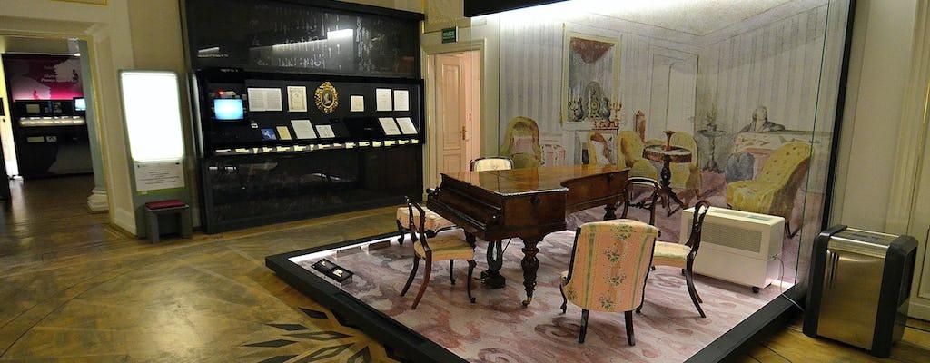 Visita guiada privada a Chopin com ingressos para o Museu Chopin