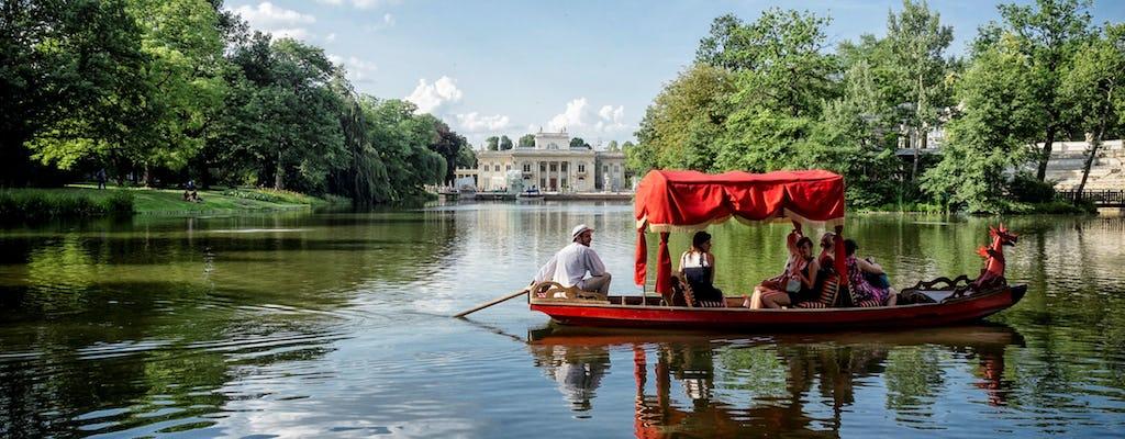 Excursão privada sem filas ao Palácio Lazienki com cruzeiro e transporte
