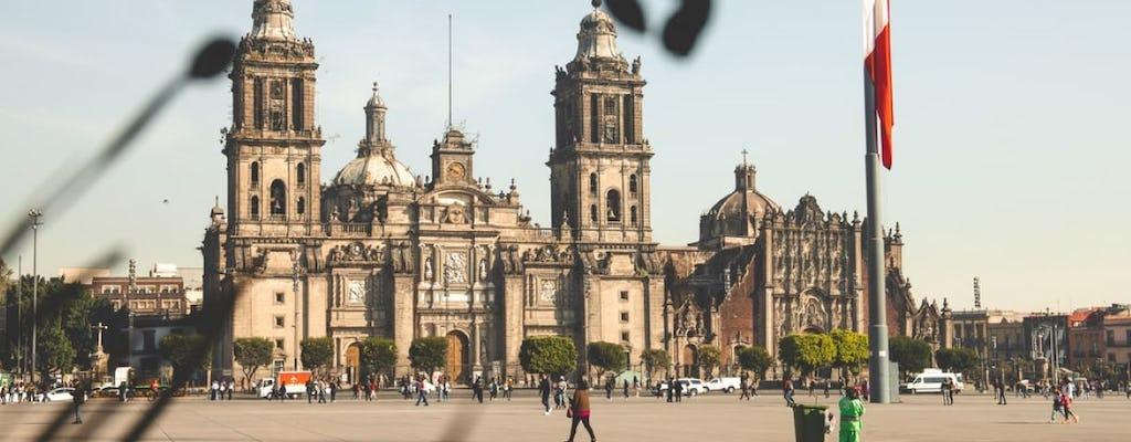 Visite de Mexico avec visite facultative du musée d'anthropologie