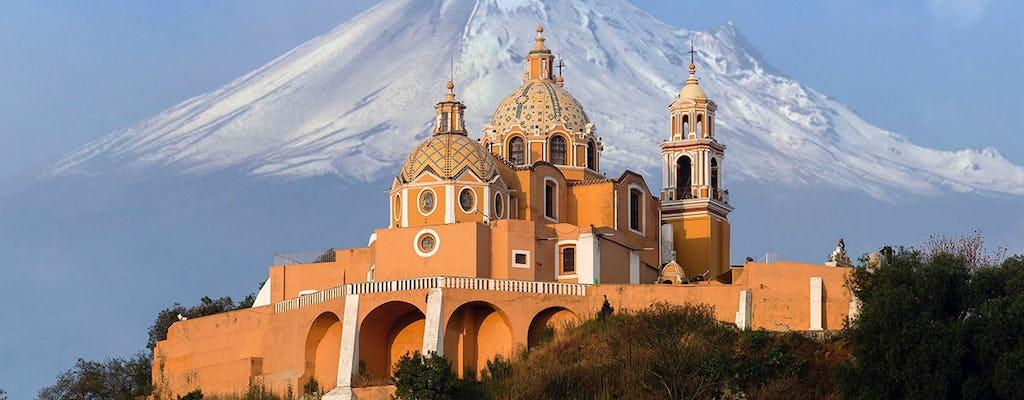 Visita guiada a Puebla e Cholula saindo da Cidade do México com almoço opcional
