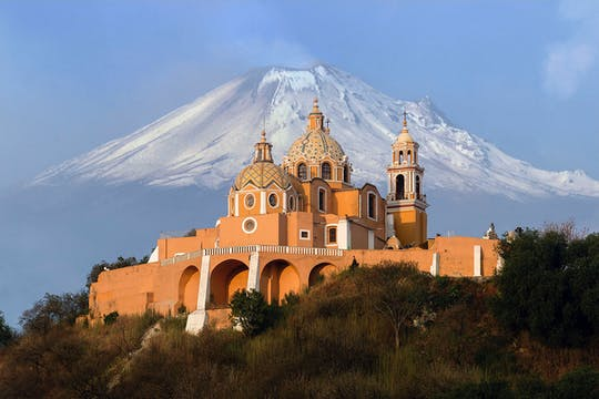Puebla and Cholula guided tour from Mexico City with optional lunch