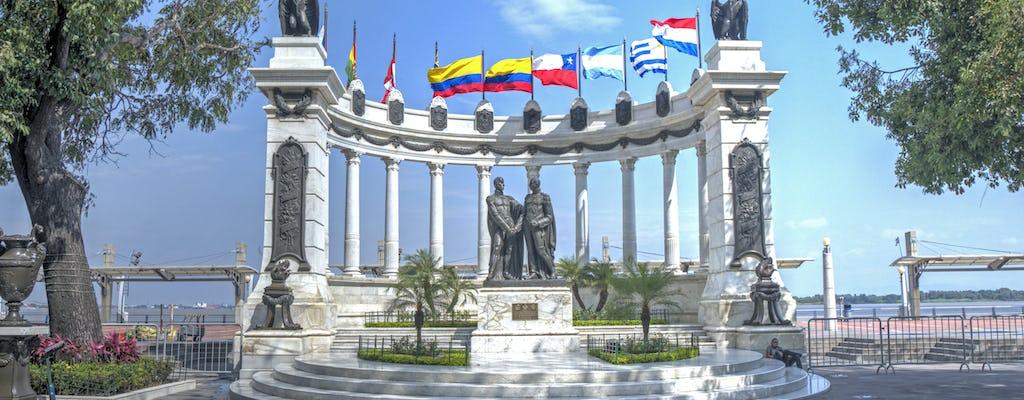Guayaquil city tour with Historical Park visit