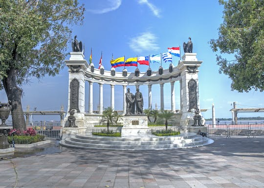 Guayaquil city tour with Historical Park visit