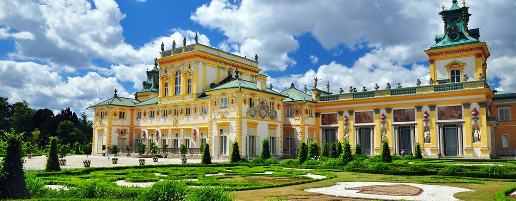 Visita guiada privada sin colas al Palacio y jardines de Wilanów