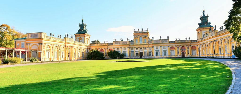 Wilanów Palast und Gärten private Führung mit Transport
