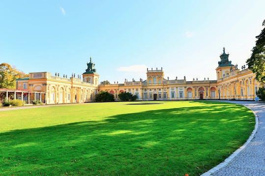 Visita guidata privata del palazzo e dei giardini di Wilanów con trasporto